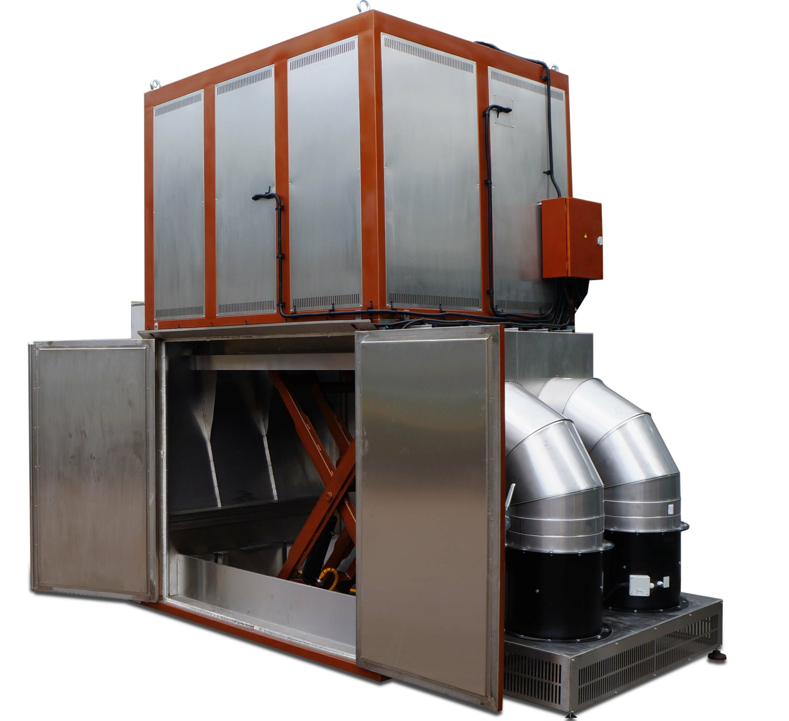 IHF 1100_2160 with air cooling system